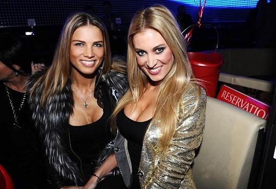 Klára s kamarádkou Katkou Průšovou.