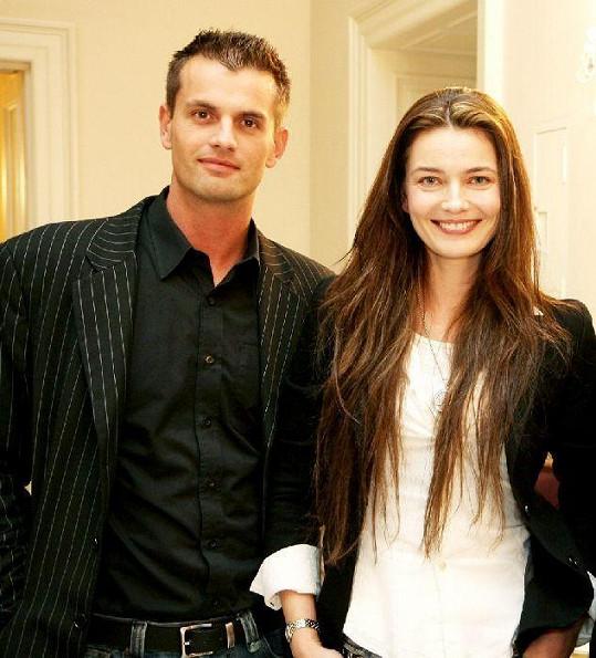Tamařin milenec Roman Hajabáč s Paulinou Pořízkovou.