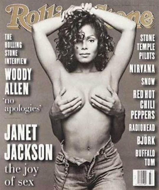 Janet Jackson na obálce časopisu Rolling Stone z roku 1993.