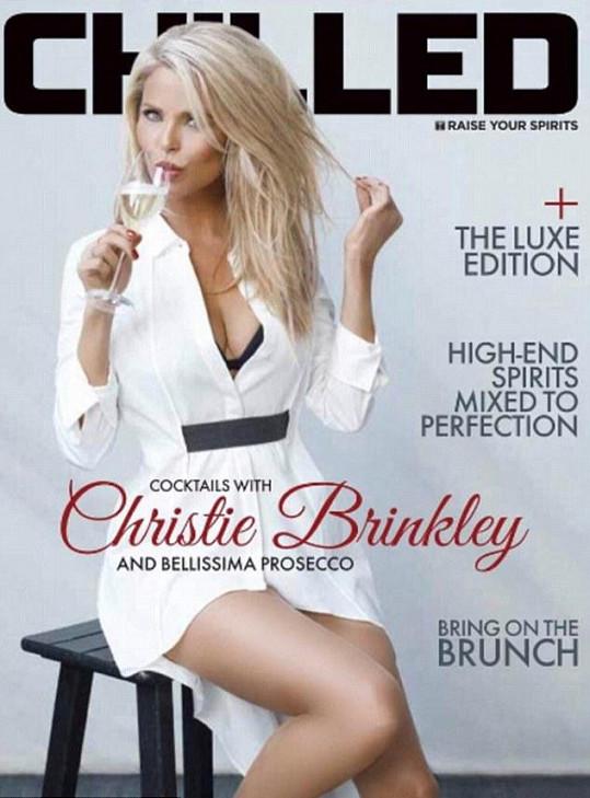 Christie Brinkley a její nejnovější obálka...