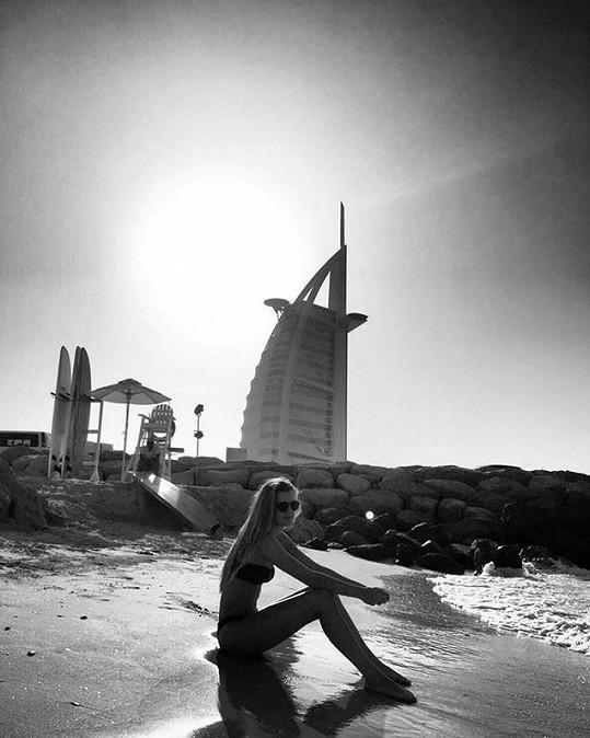 Nyní si užívá na dovolené v Dubaji.