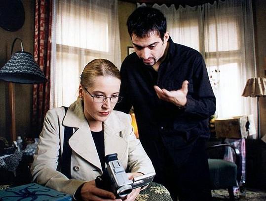 Dana Sedláková a Mikuláš Křen ve filmu Samotáři