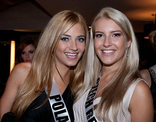 Jitka Nováčková se spřátelila s Miss Polsko.