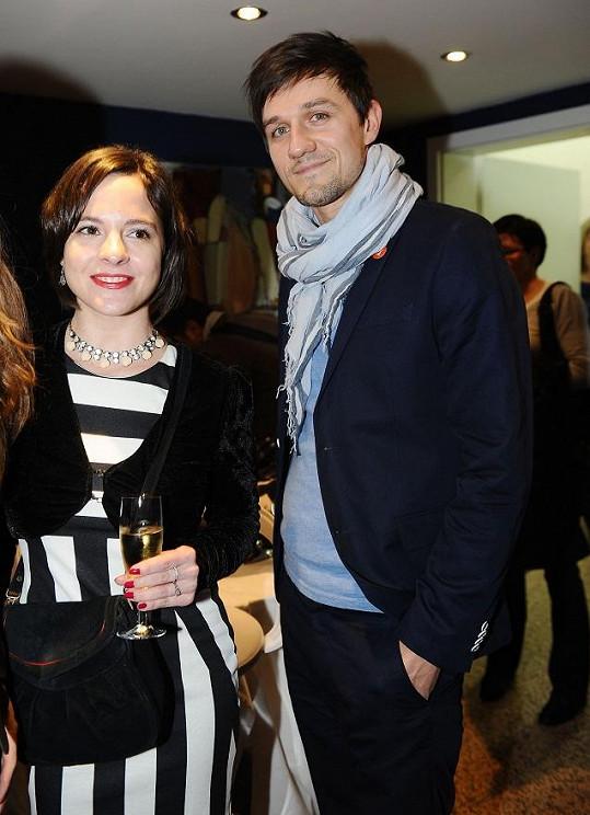 Kristýna Janáčková s přítelem.