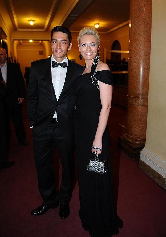 Lucie s přítelem Michalem Hrdličkou