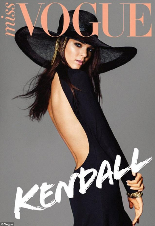 Kendall na obálce Miss Vogue.
