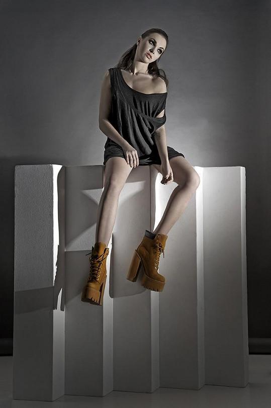 Kamila se stala tváří nové módní kolekce.