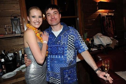 Jitka s miliardářem Igorem Rattajem.