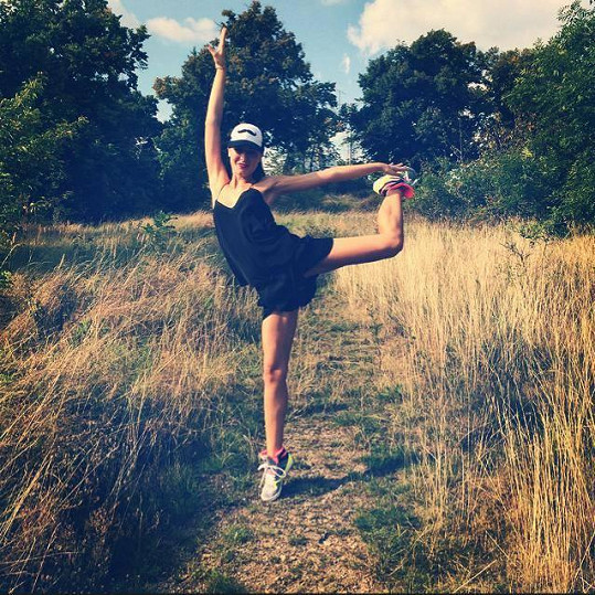 Tereza Chlebovská miluje tanec a sport.
