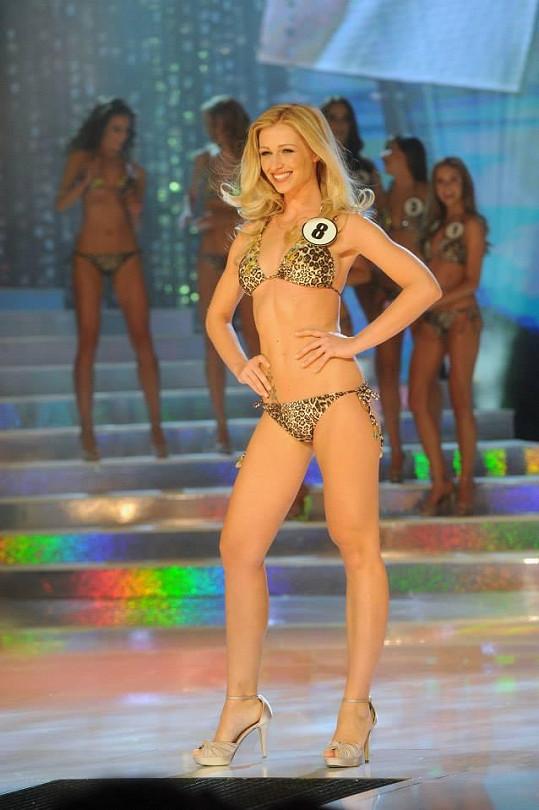 Tohle parádní tělíčko měla při finále České Miss.