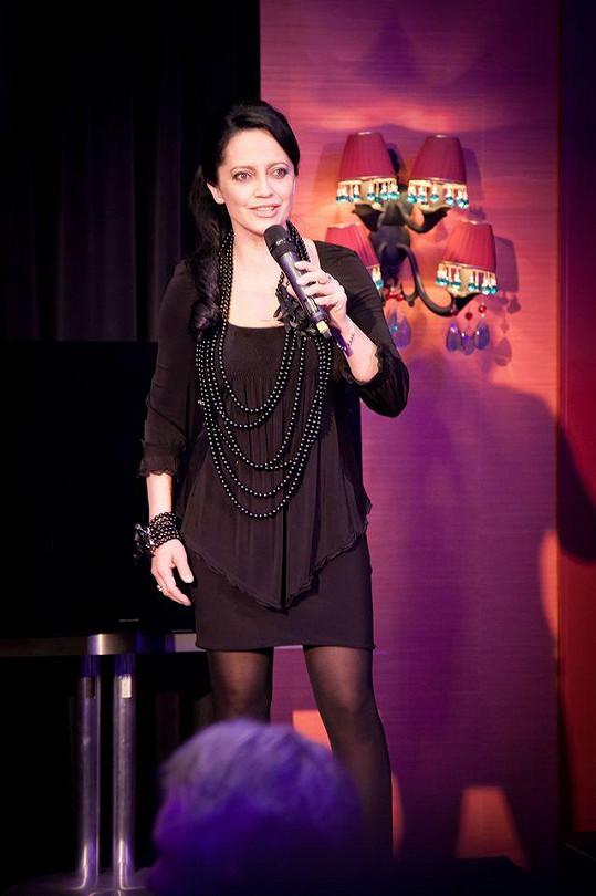 Hlavní hvězdou večera byla zlatá slavice Lucie Bílá.
