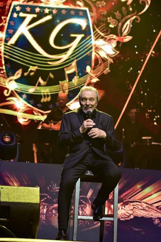 Karel Gott koncertoval v Bratislavě.
