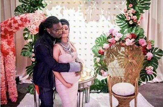 Vzali se před třemi lety, když byla Cardi těhotná.