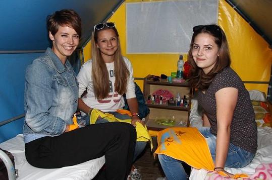 Gabriela probírala s dospívajícími dívkami i anorexii.