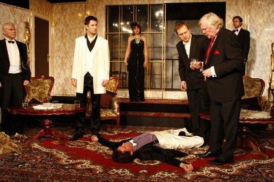 Detektivku museli v Divadle Radka Brzobohatého dozkoušet bez Štolpy.