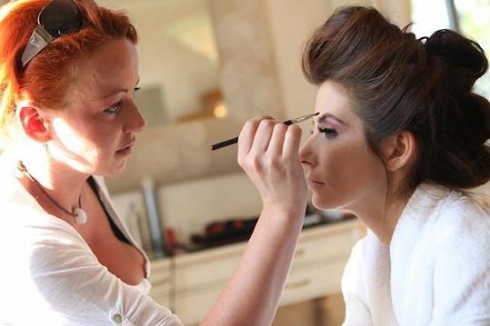 Make-up měla na starosti Martina Klímová.