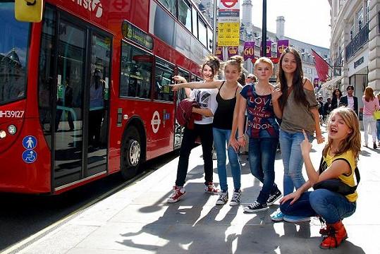 5 Angels v Londýně