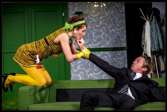Andrea Kerestešová se představí ve své vůbec první profesionální divadelní roli.