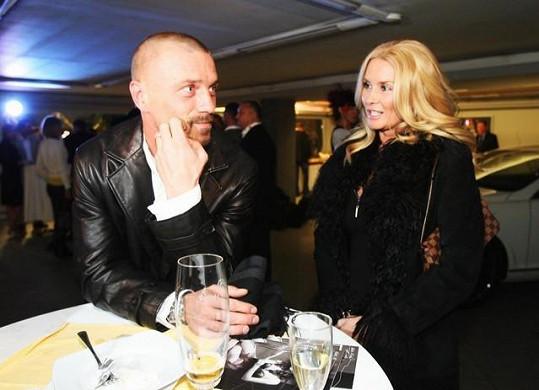 Tomáš Řepka se svou exmanželkou Renatou