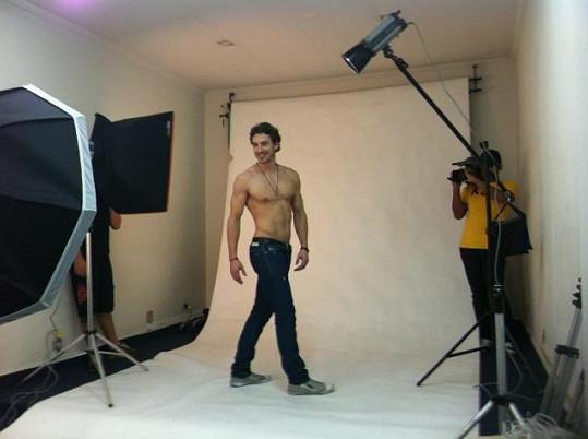 V rámci reality show Gringo probíhalo focení a natáčení medajlonků.