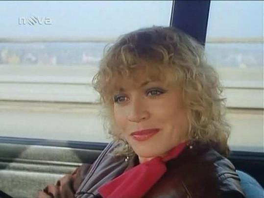 Jana ve filmu Můj hříšný muž (1986).