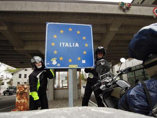 Do Itálie nakonec dorazili v pořádku.