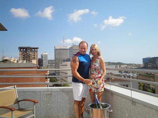 Marek Vít s přítelkyní Kateřinou jsou velmi zamilovaní