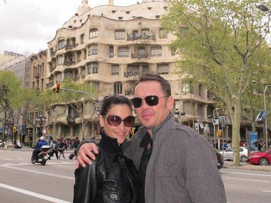 Tohle má být důkaz. Nikola ve Španělsku s kamarádem Petra Jirkou Pokorným.