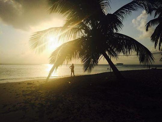 V Karibiku je nádherně.