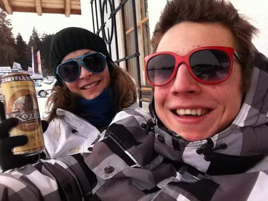 Magda a Jakub si dovolenou užili.