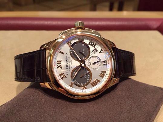 Lukáš Vácha měl na ruce hodinky téměř za milión.