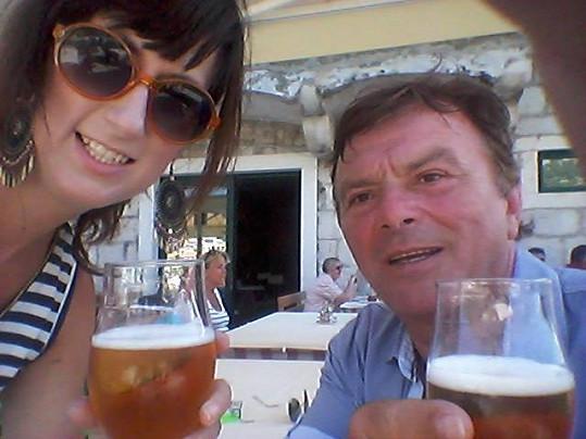 Pavel s Monikou si umějí dovolenou užít.