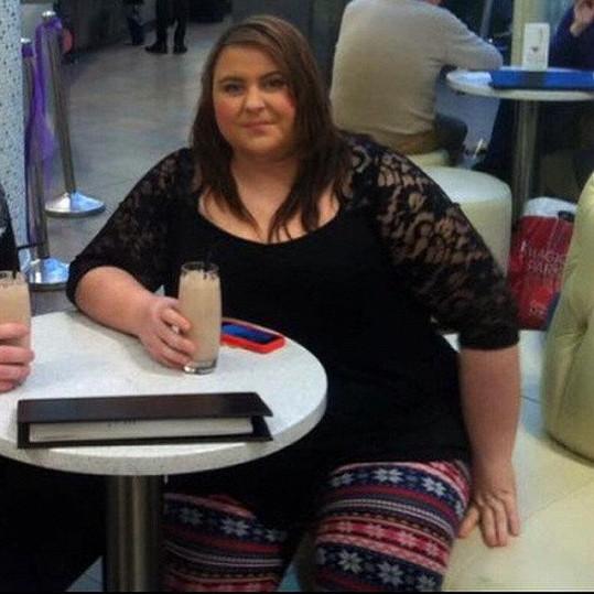 V nejtučnějším období se váha Alex přiblížila ke 150 kilogramům.