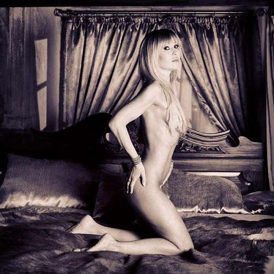 Kateřina Kaira fotila i nahá.