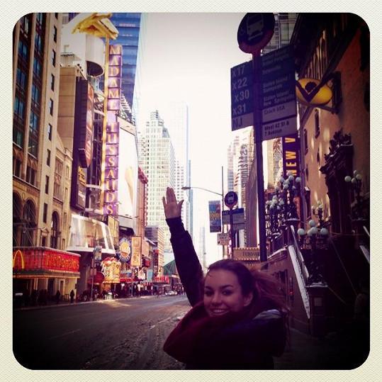 Ewa řádila v newyorských ulicích.