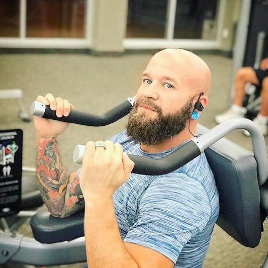 Za dva roky od rozhodnutí změnit svůj život zhubl z původních 180 celých 91 kilogramů.