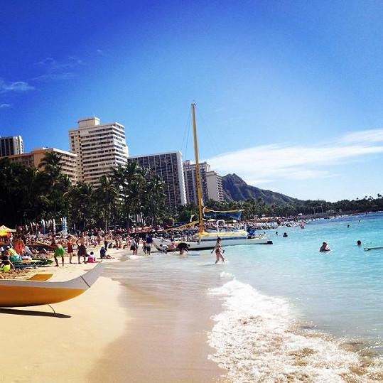 Romantika v Honolulu
