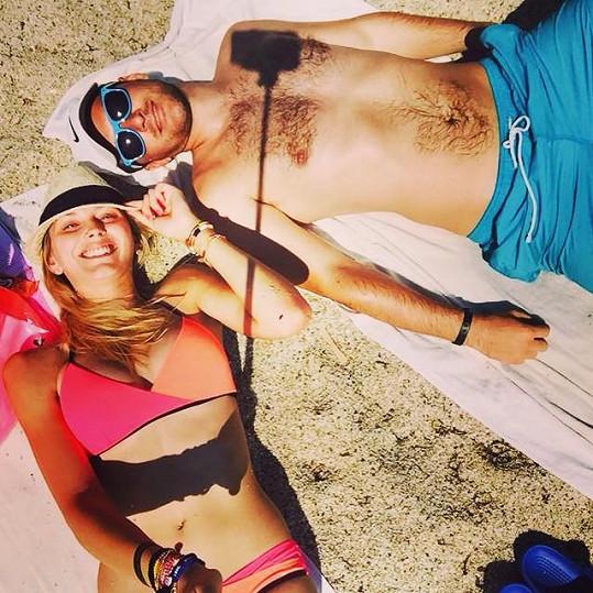 Zorka si s manželem užívají dovolenou v Turecku.