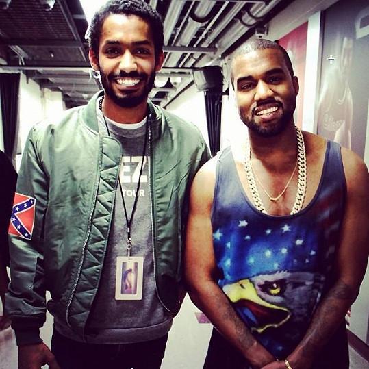 Kanye West přijal Yemiho do hudební rodiny.