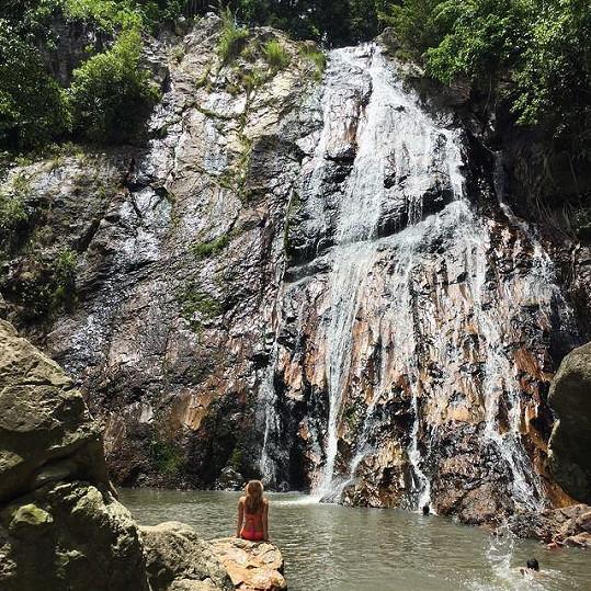 Inna Puhajková je na dovolené v Thajsku.