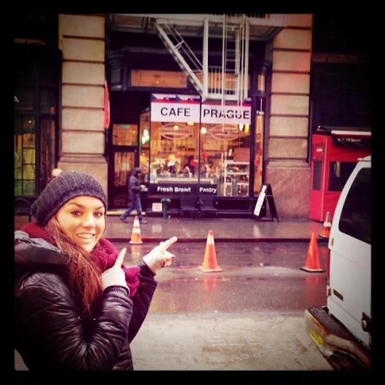 V New Yorku našla Ewa kavárnu se sympatickým jménem.