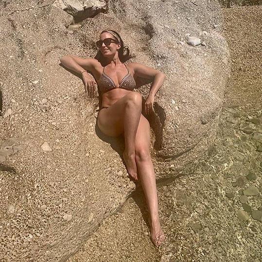 Gabriela Partyšová vystavila na odiv své tělo.
