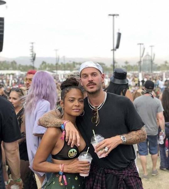 Christina Milian a Matt Pokora