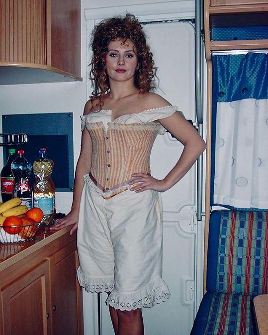 Dana Morávková před 16 lety na natáčení amerického filmu