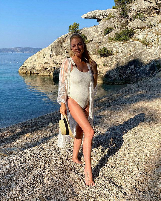 Markéta Konvičková už je opět v Chorvatsku.