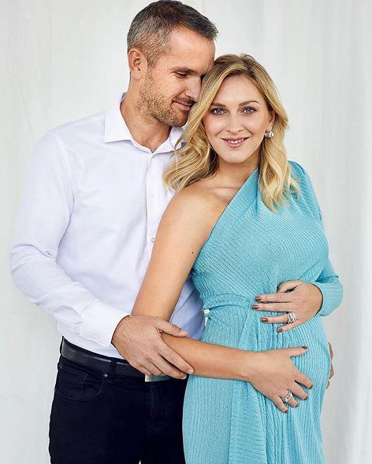 Zorka Hejdová je na konci čtvrtého měsíce těhotenství.