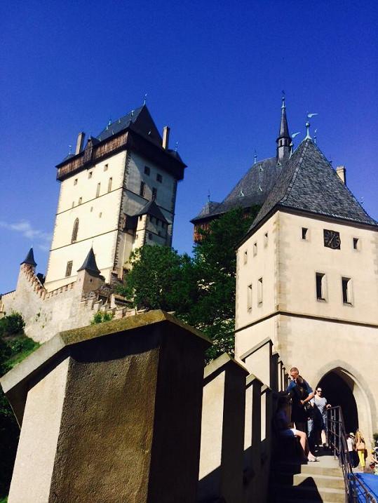 Hrad Karlštejn očima Vlaďky Erbové