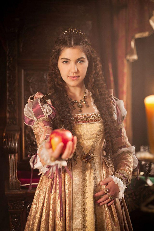 Celeste Buckingham v roli princezny Beatrix