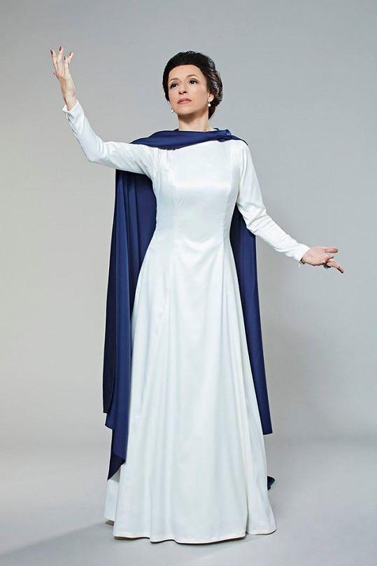 Zvládla i operní dvu Marii Callas