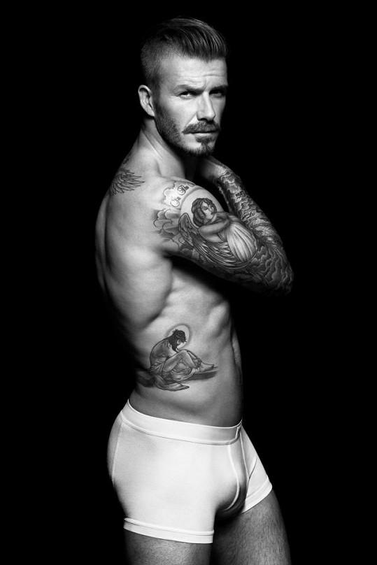 David Beckham je stále sexy.